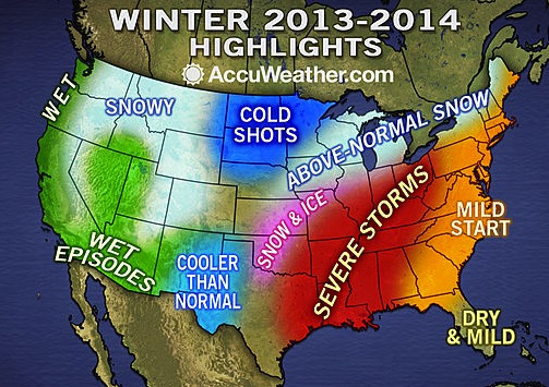 Accuweather Long Range Winter Forecast 2013 2014 Long Hairstyles Image ...