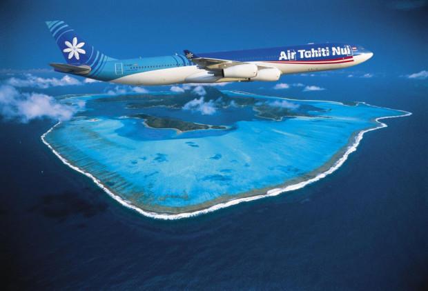 Hopefully, your flying to Tahiti