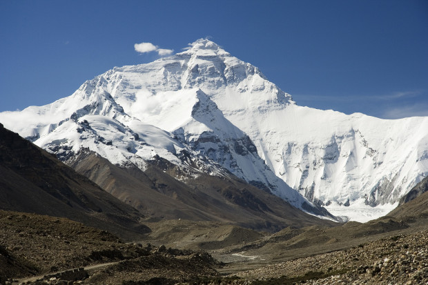 Mt. Everest from Tibetan side