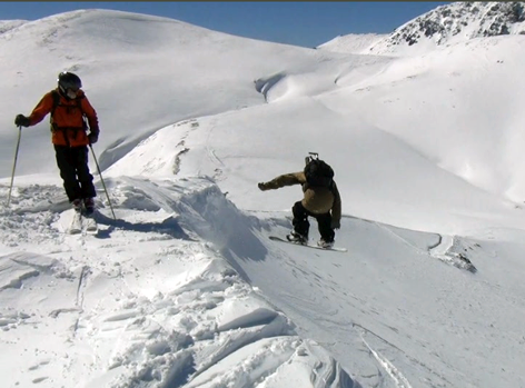 Sending it into the goods in Bagaules Mountain Reserve, argentina conditions report