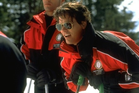 Aspen Extreme's TJ Burke made ski instruction look like a pretty great job.