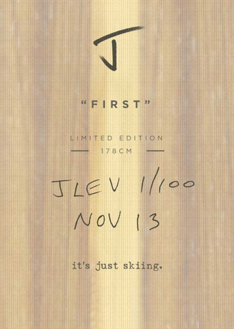 """J Skis """"First"""""""