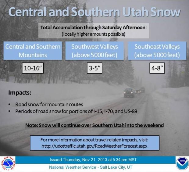 Utah storm update.