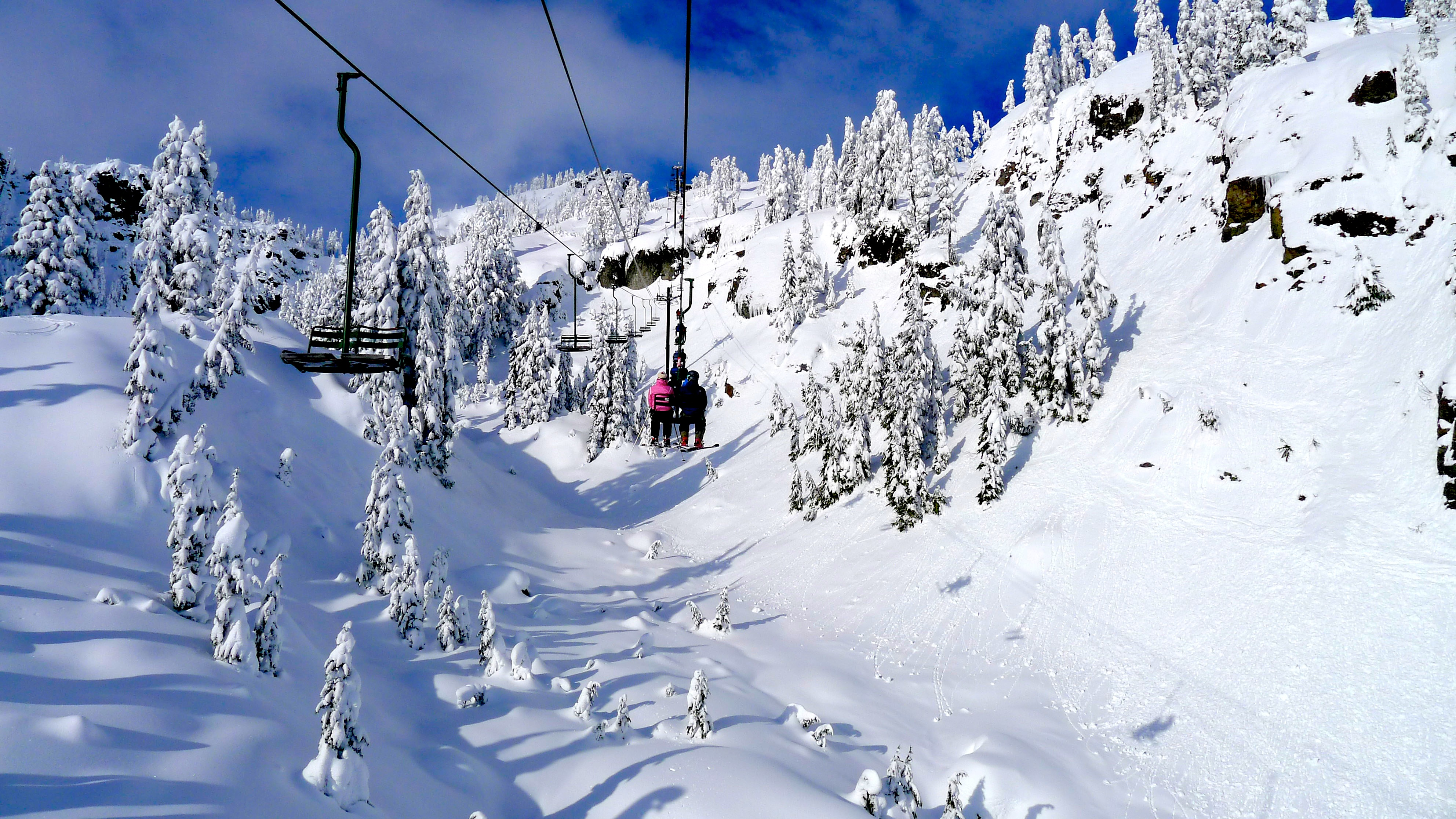 the top 5 chairlifts in the pacific northwest snowbrains