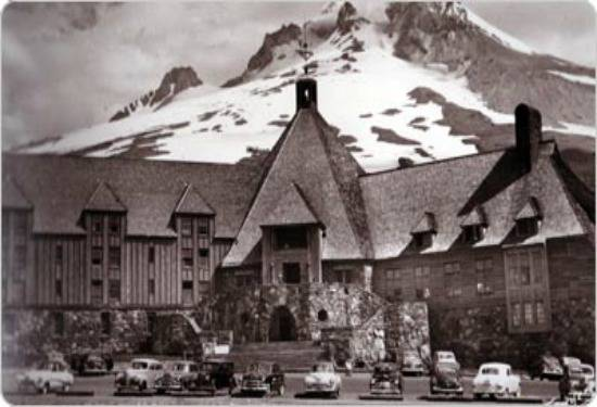 Timberline Lodge, OR on Mount Hood, snowiest