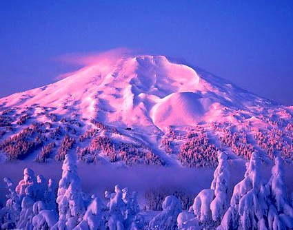 Mt. Bachelor, OR, snowiest