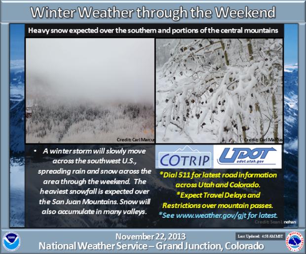 Colorado storm update.