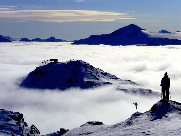 This photo is actually of Whistler in Canada...  photo:  snowbrains.com