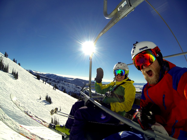 Happy for winter! targhee opening day