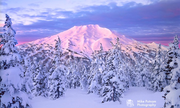 What a large, beautiful pile of Snowflakes looks like:  Mt. Bachelor, OR.  photo: