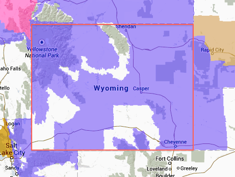 "Cold Front Hitting Wyoming: 15"" of Snow Forecasted Today & Tomorrow"