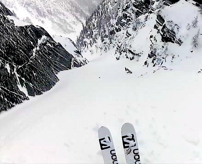 revy skiing