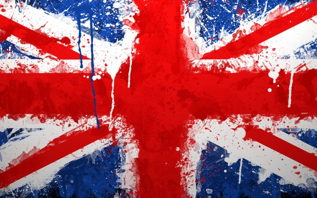 Water-color-British-flag