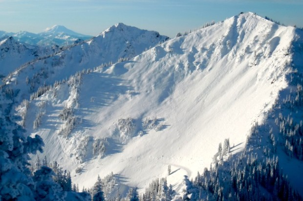 Crystal Mountain in October. This place gets snow. photo: kim kirchner, snowiest