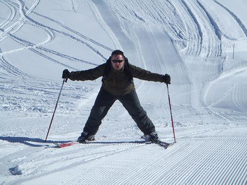 ski beginner
