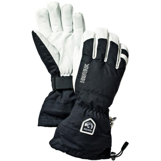 The Heli Glove in Black. Removable liner, draw strings... Photo - evo.com