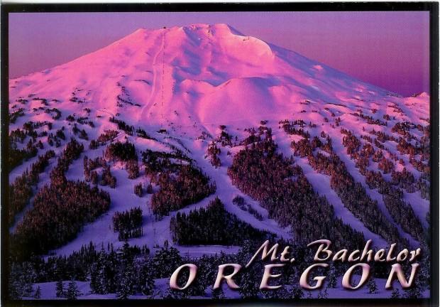 Mt. Bachelor ski resort in Bend, OR.