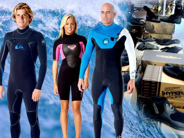 rad people in wetsuits.