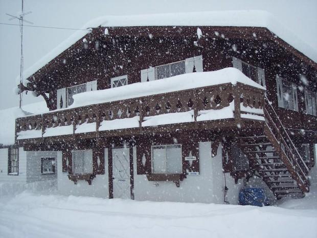 Snow Ridge ski resort yesterday.
