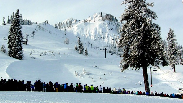 long lines at squaw
