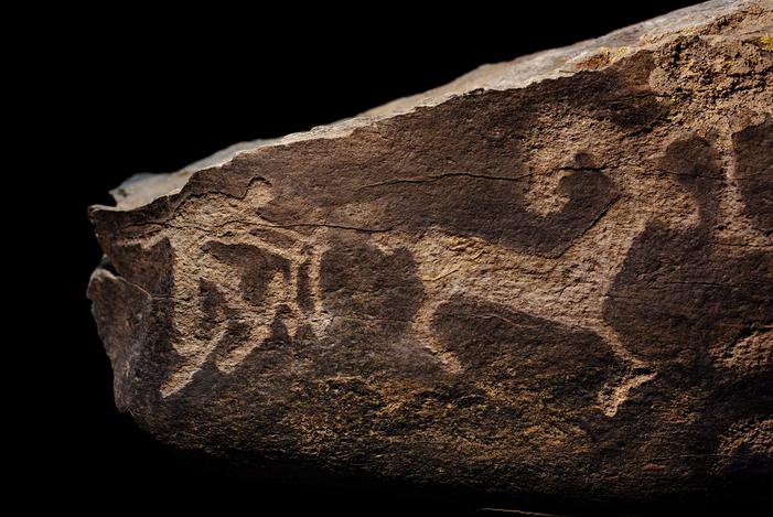 ski stone carving