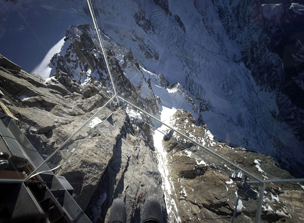 The Brand New Quot Chamonix Skywalk Quot In The French Alps