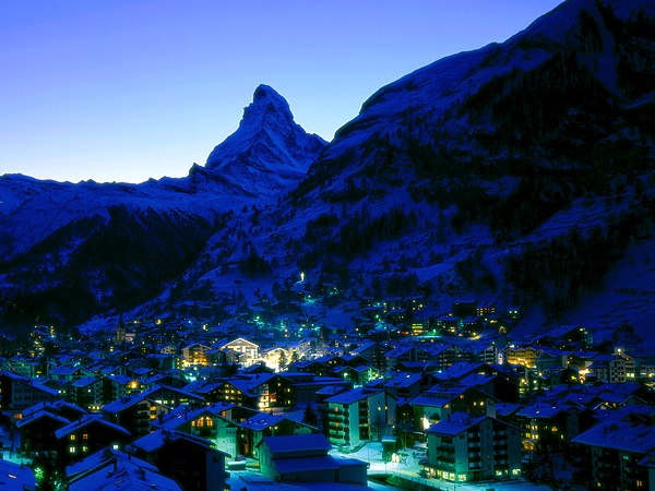 Zermatt ski town