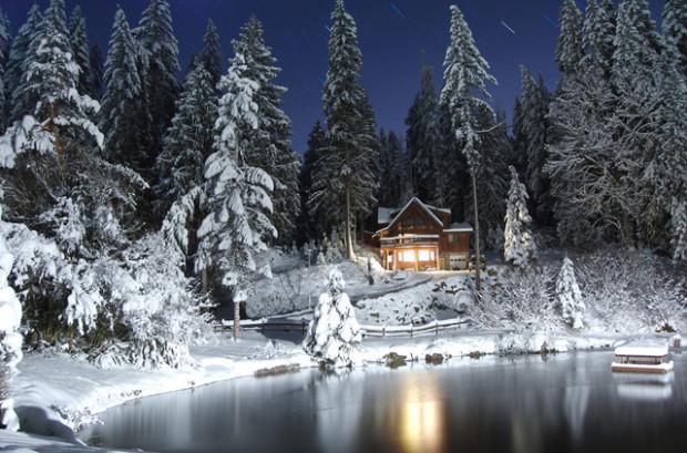 Glacier, WA cabin.