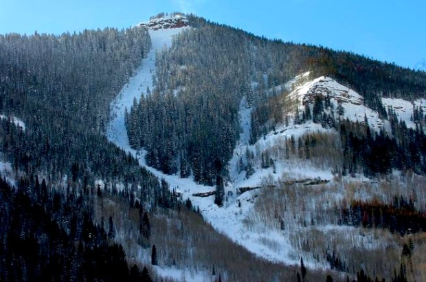 East Vail chutes in 2008.  photo:  Helen H. Richardson, The Denver Post