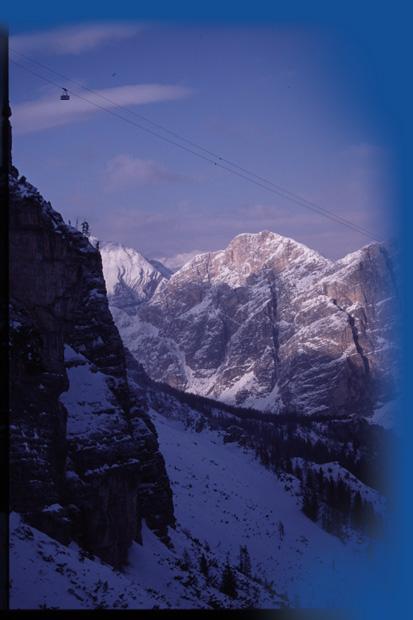 The Freccia, Cortina, Italy