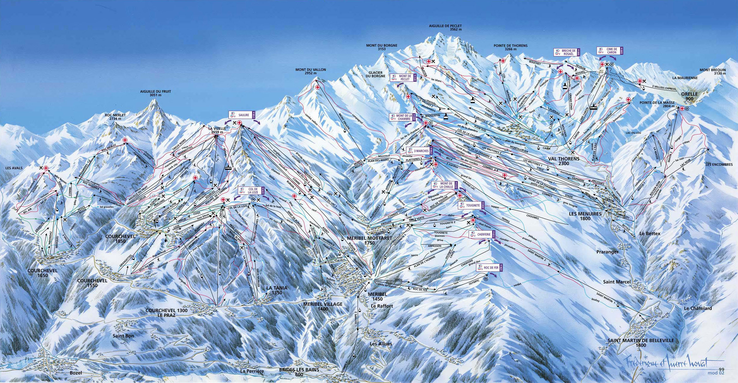 The 10 Largest Ski Resorts on Earth SnowBrains