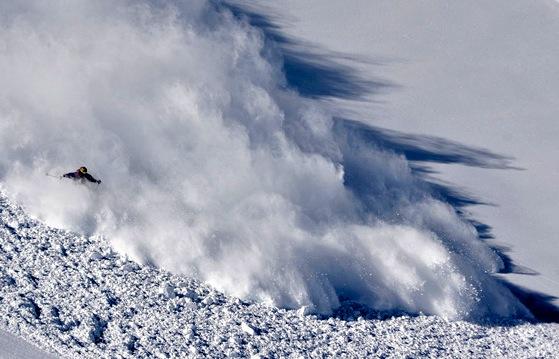 skier avalanche