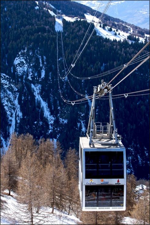 The Vanoise Express, La Plagne-Les Acrs, France