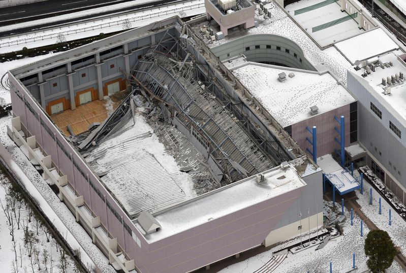 snow roof collapse