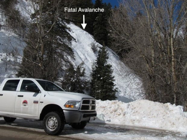 snow avalanche death