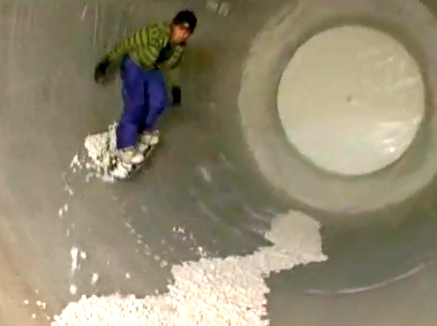 spinning tunnel for snowboard