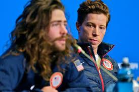 Danny Davis and Shaun White. Danny got 10th at the Olympics in Sochi.