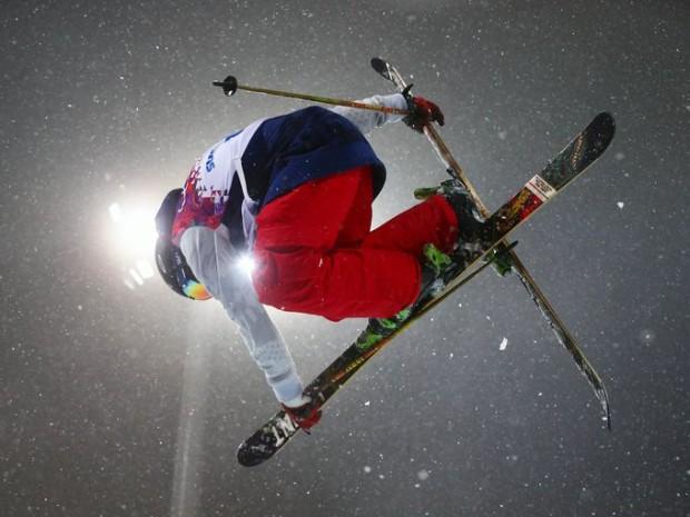 gold medal run halfpipe ski