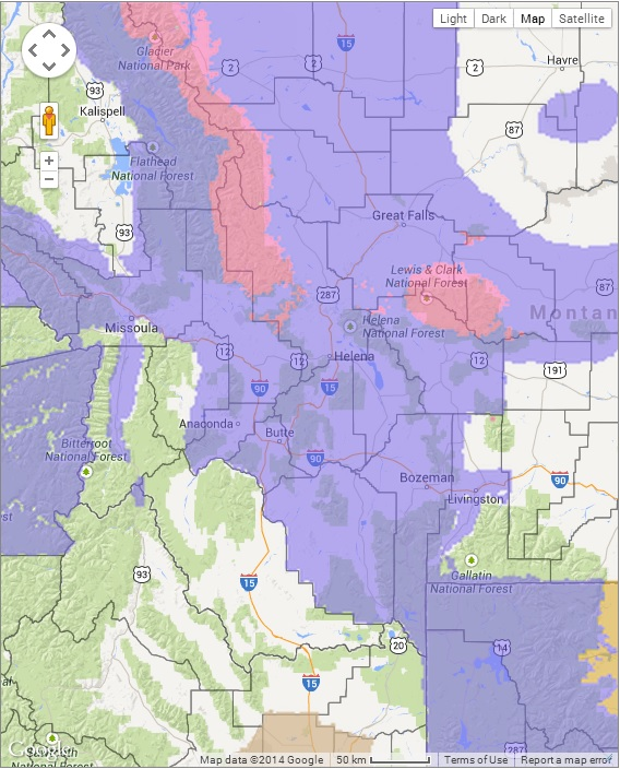 Winter Storm Warnings Montana