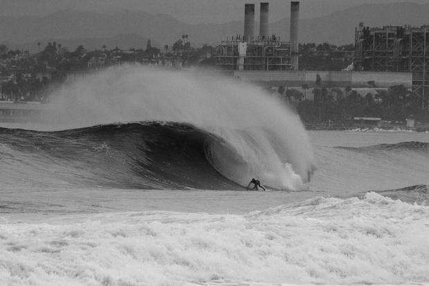 Los Angeles, CA on Saturday.  photo:  Surfer Mag/Jacobsen