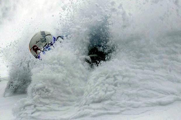 deep powder skiing at Jackson