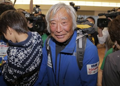 Yuichiro Miura 2 days ago after his summit of Everest at age 80