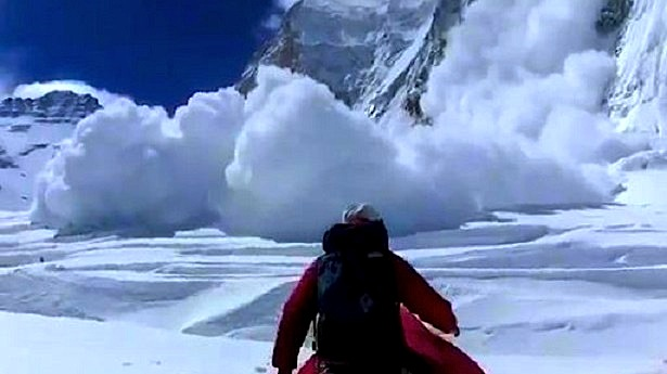Last Friday's deadly avalanche on Everest.