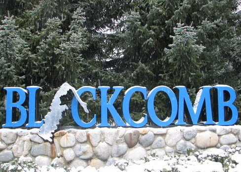 The Blackcomb Logo in the flesh, but not ever in print nor online.