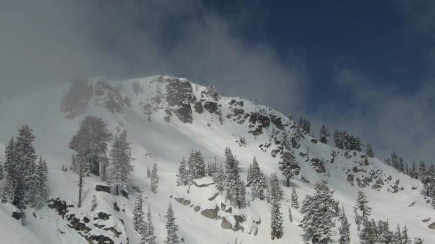 Granite Chief Peak today.  not open