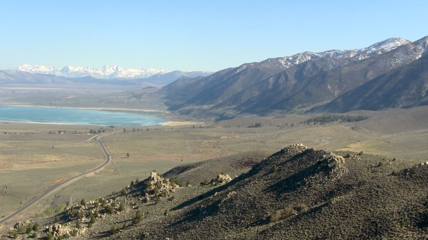 Mono Lake view today