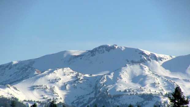 Mammoth Mountain today.