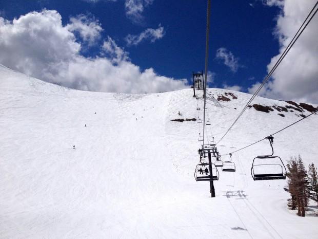 Siberia was skiing well yesterday.