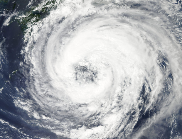 Tropical storm Talas on Sept. 1st, 2011 over the western Pacific