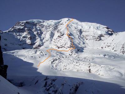Liberty Ridge.  Mt. Rainier, WA